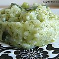 Risotto tout courgettes!!!