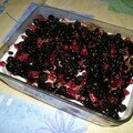 mon tiramisu muscat - fruits rouges