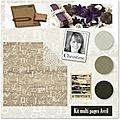 Kit multi*pages du mois d'avril, christine