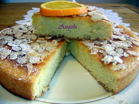 Gâteau mousseline à l'orange 031