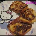 Pain perdu gourmand