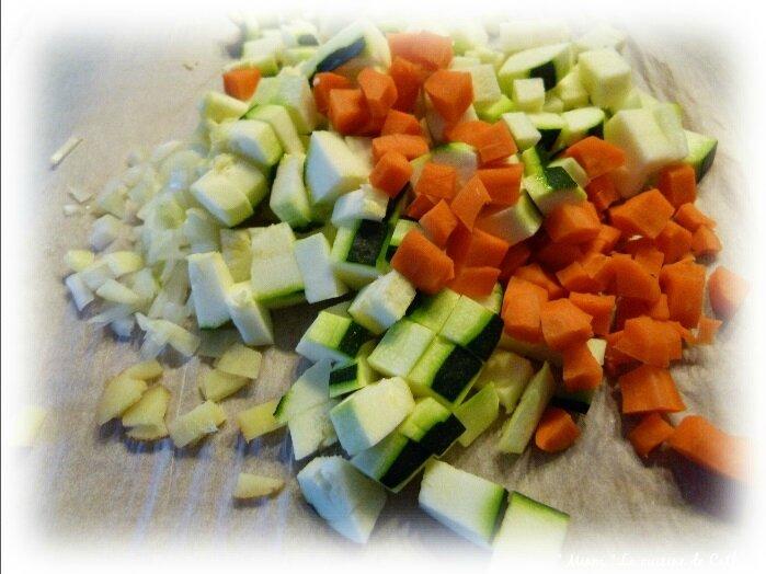 légumes raviolis
