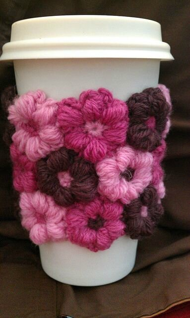 cup cosy mollie flower