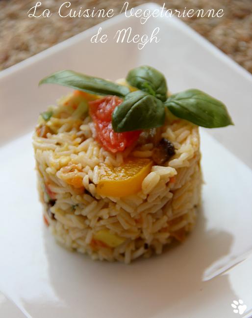 Salade De Riz Sucréesalée La Cuisine Végétarienne De Megh - Cuisine vegetarienne blog