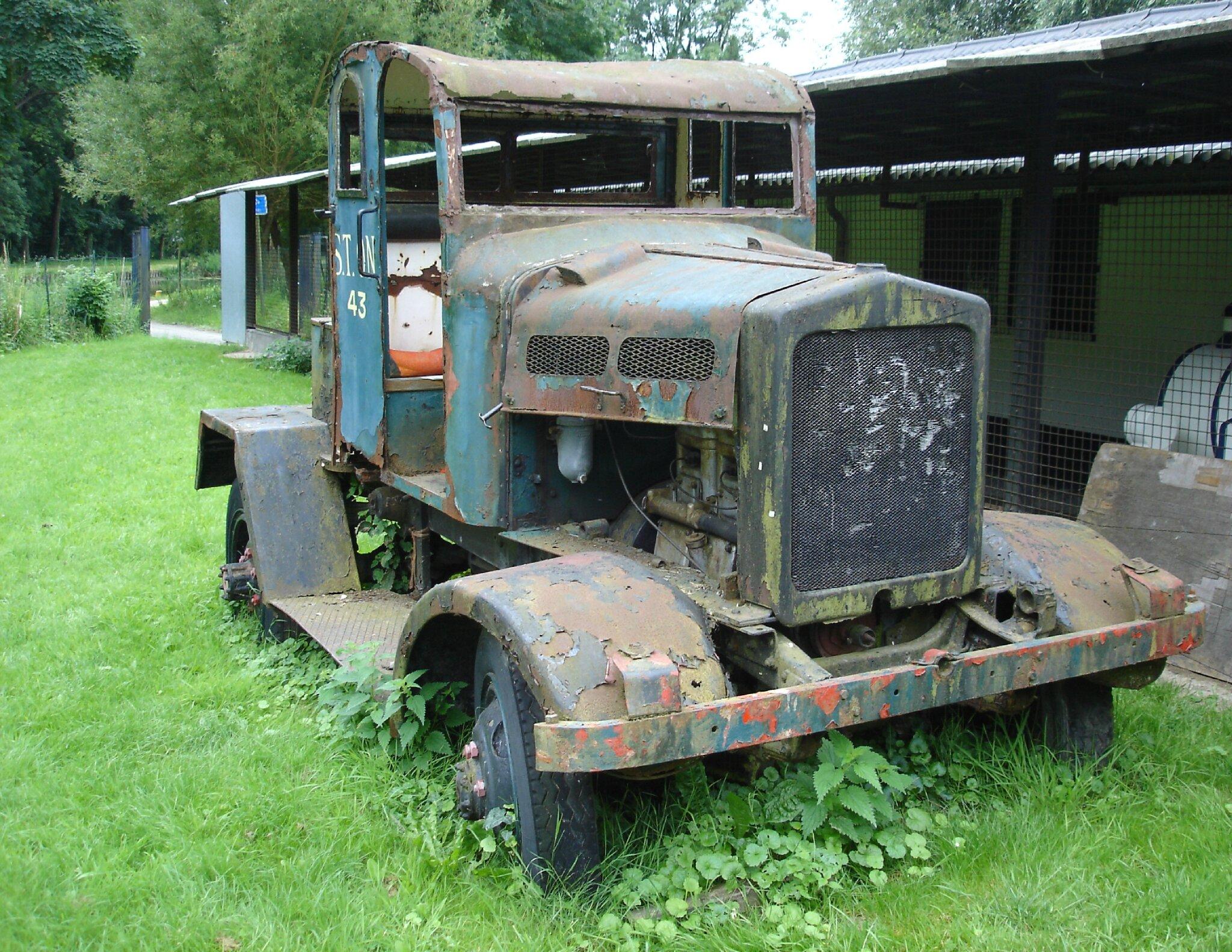 le vieux camion