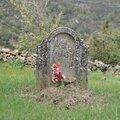 Belsué, cimetière, tombe (Espagne)