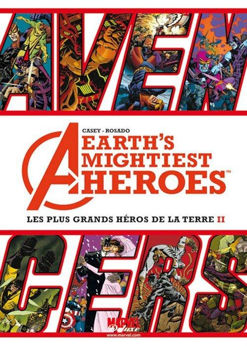 marvel deluxe avengers les plus grands héros de la terre 2