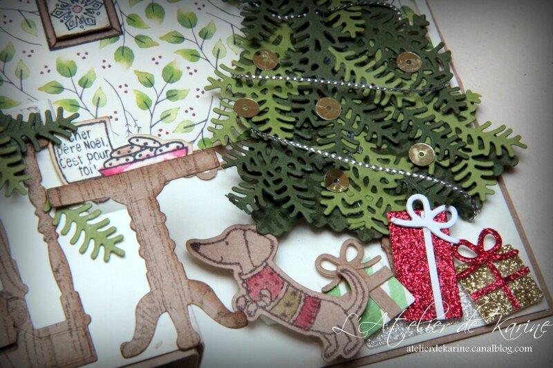 Carte Prêt pour Noël 2