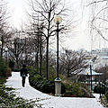 Paris enneigé