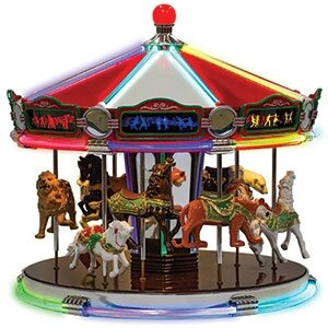 Carrousel musical miniature Mr Christmas 79789