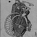 The bicycle that folds up - 1895