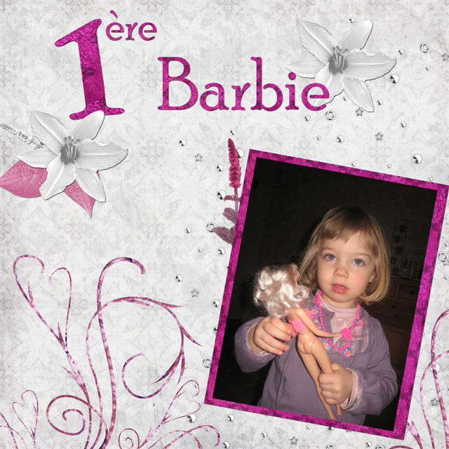 1 ère Barbie