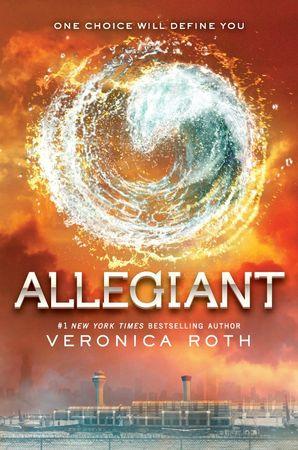Allegiant cover Divergent T3