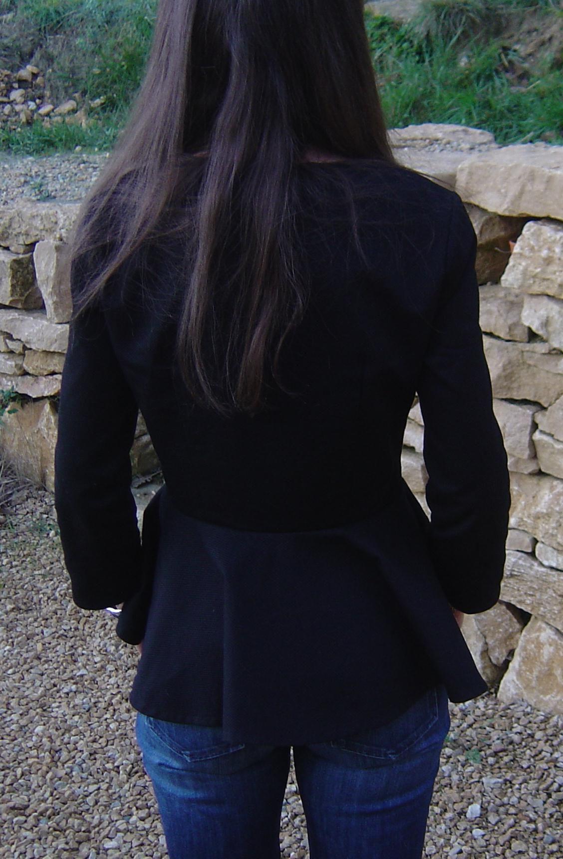 toile coton noire
