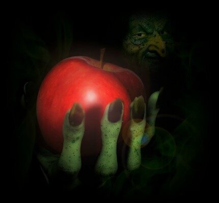 apple-grHand-witch