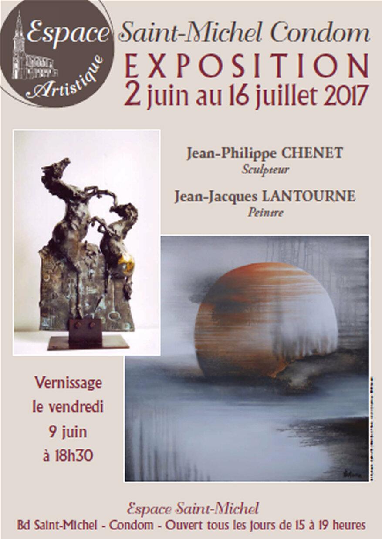 CHENET - LANTOURNE à l'Espace Saint Michel de Condom (32)