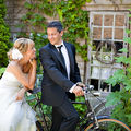 Astride et jean-thomas - real wedding by amypunky