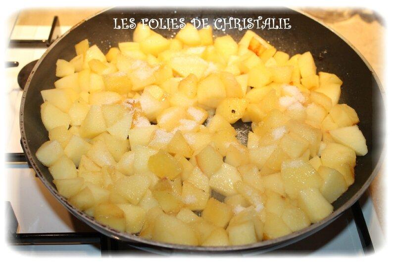 Galette pommes 5