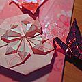 Cartes-enveloppes origami diy & toile lipstick