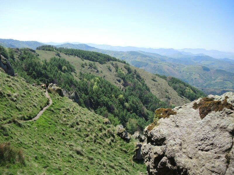 Les Trois Couronnes, montée vers Erroilbide 4 (Espagne)