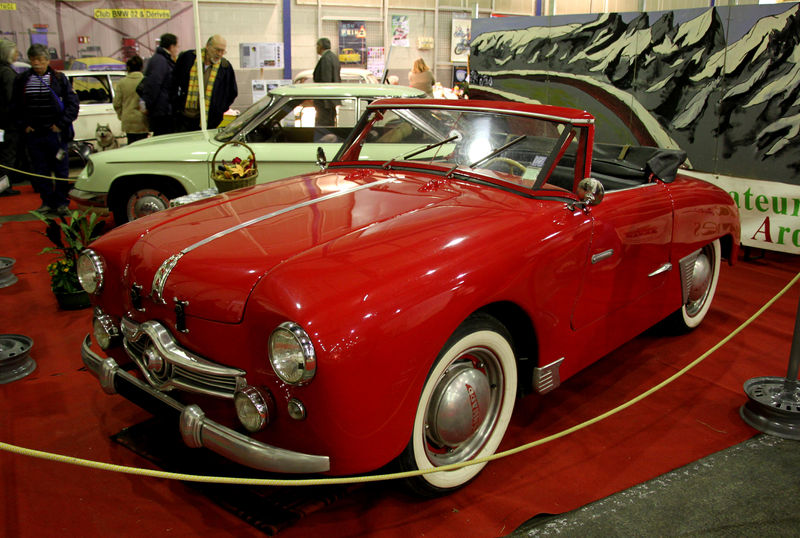 La Panhard Dyna Junior X 87 Cabriolet De 1952 23 232 Me Salon Champenois Du V 233 Hicule De Collection