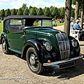 Morris type 8 serie E cabriolet de 1939 (9ème Classic Gala de Schwetzingen 2011) 01