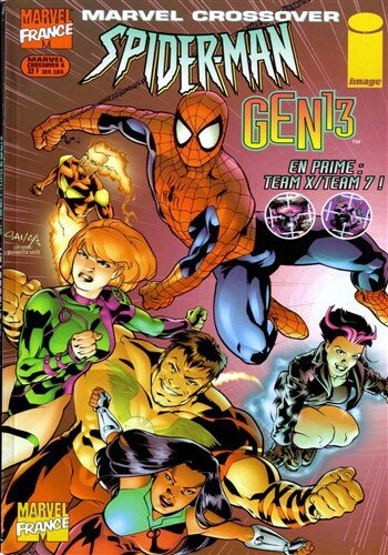 marvel crossover 06 spiderman gen 13