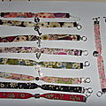 Bracelets liberty, broches.