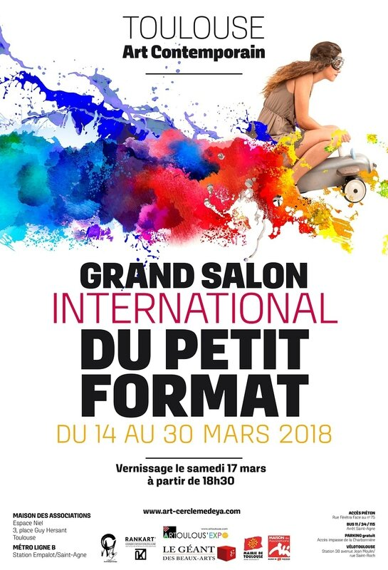 affiche grand salon du petit format