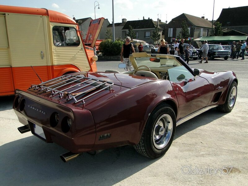 chevrolet corvette stingray convertible roadster 1974 b