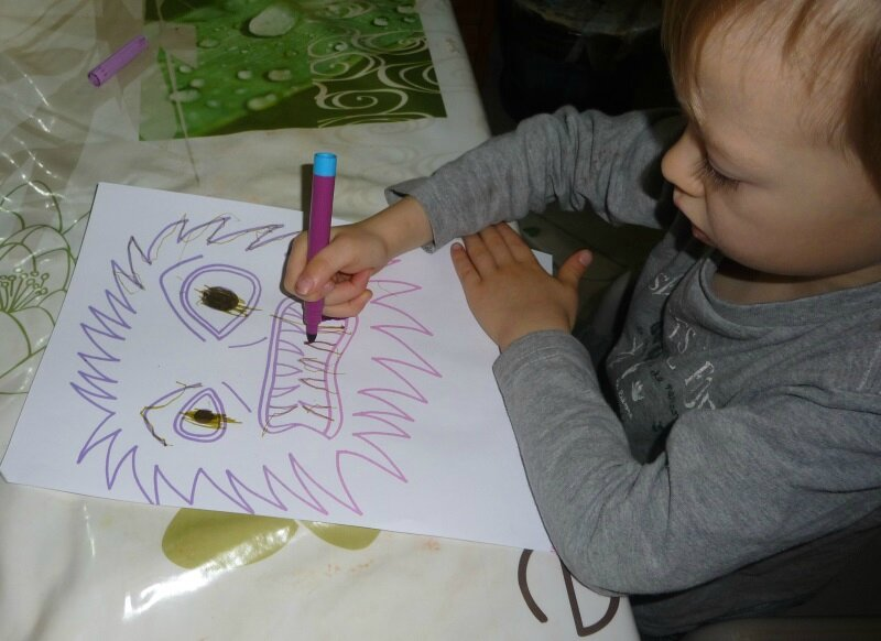 coloriage monstre