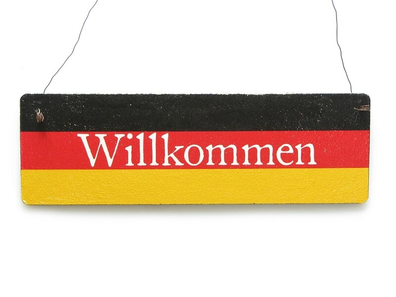 bienvenue allemand