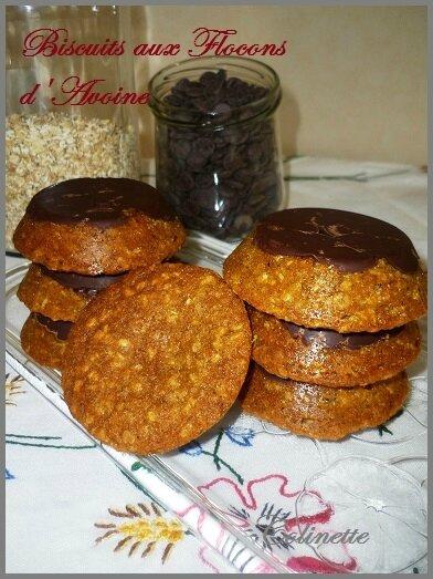 biscuits aux flocons d'avoine de Chrystel 02