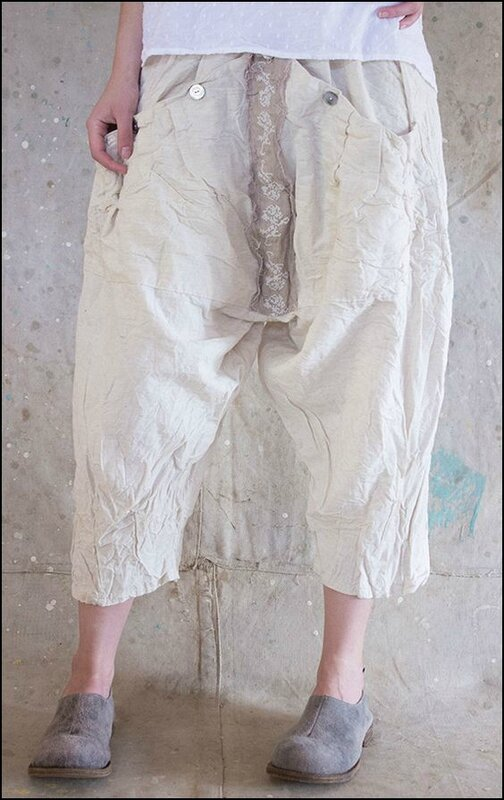 Emy Pants 034 - Natural Cotton