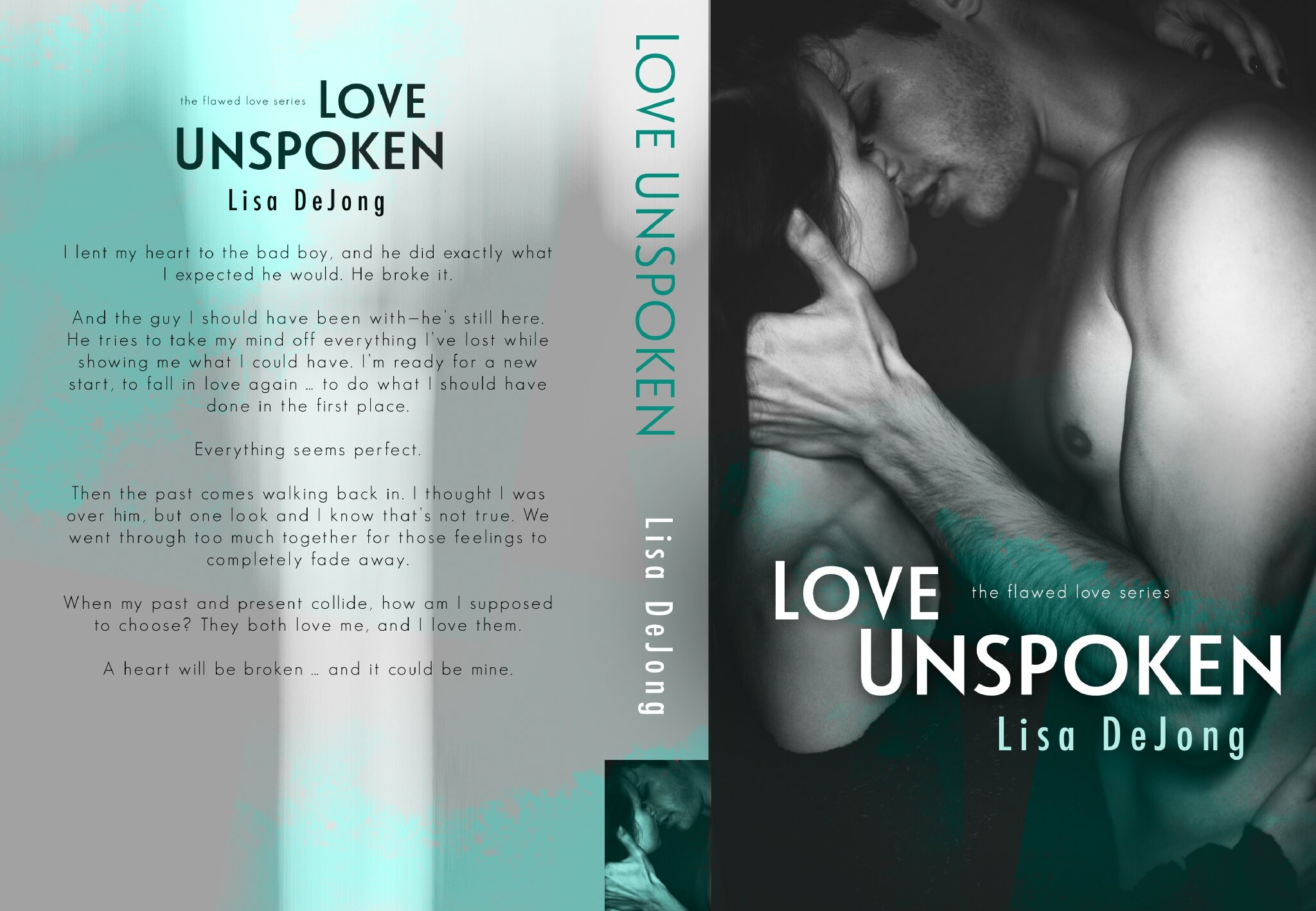 Cover Reveal - Love Unspoken by Lisa De Jong (A Flawed Love Series, Book 2)