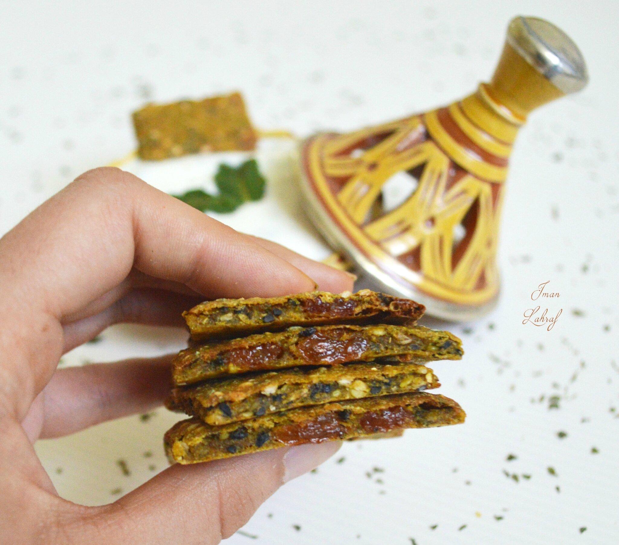 Crackers aux saveurs du Maghreb