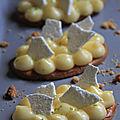 Tartelettes citron meringuees