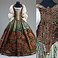 Hungarian court dress, 17th century