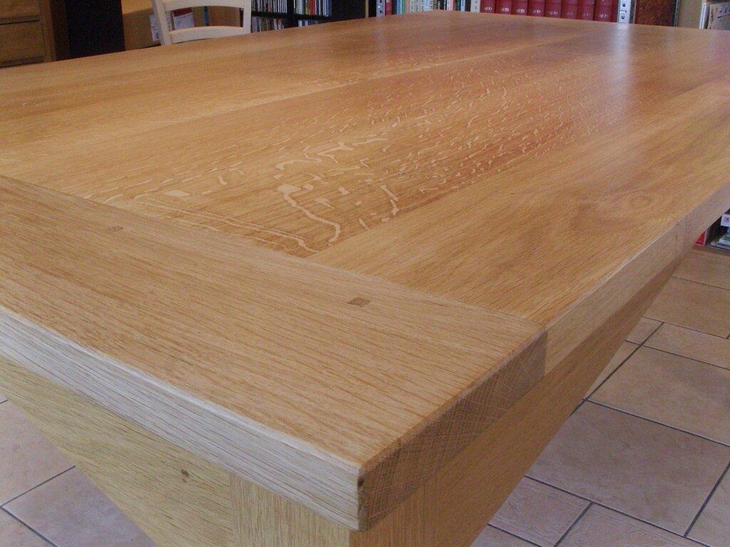 Un second plateau pour ma table de salle manger 4 5 - Plateau en bois pour table ...