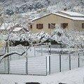 chute de neige en janvier 2005
