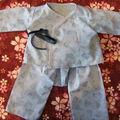 Premier ensemble en couture pour babinou