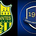 But nantes vs caen but emiliano sala (1-0)