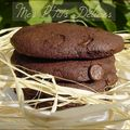 Cookies double choc