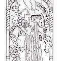 saint Bruno - interprétation de la xylographie.