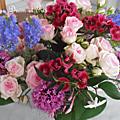 Bouquet fleurs de jardin 2014