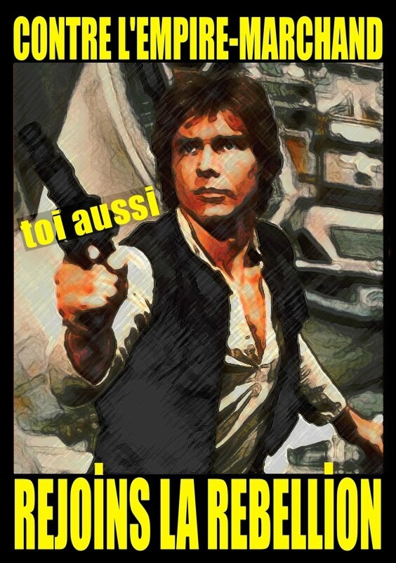 Contre l'Empire-marchand star wars 03 Han Solo copier