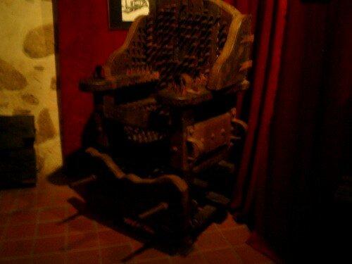 chaise de sorcière