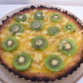 Tarte aux fruits: mangue, kiwi, ananas
