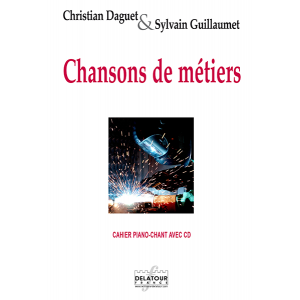 chansons-de-metiers-cahier-piano-chant-cd