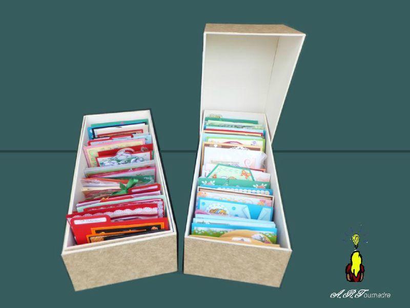 Des boites pour mon expo vente de la mjc de pac 35 les passions d 39 art - Boite de rangement avec intercalaires ...